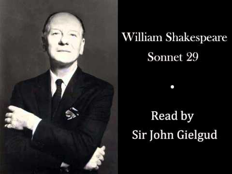 sonnet 29 by william shakespeare