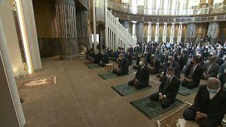 Turkish President Erdogan inaugurates mosque on Istanbul's iconic Taksim Square | AFP