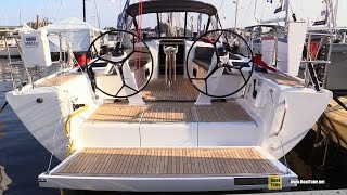 2016 Dehler 46 Sailing Yacht - Deck and Interior Walkaround - 2015 Annapolis Sail Boat Show