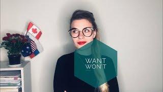 Как выучить английский? WANT vs. WON'T - как правильно произносить эти слова?