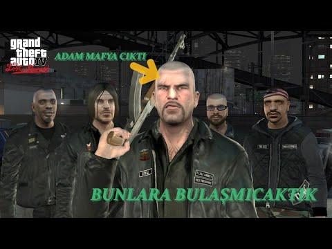 BURNU BÜYÜK ARKADAŞIYLA MAFYADAN PARA ALIYOR (GTA IV)
