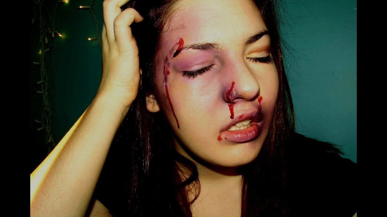 Special Fx Makeup Beaten Up Punched In