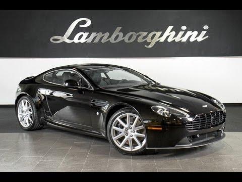 2014 Aston Martin Vantage Metallic Black Lt0644 Youtube