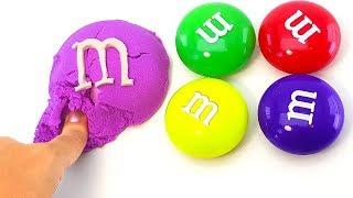 Сюрпризы в конфетах ммдемс. СВИНКА ПЕППА, ЛУНТИК, ПРИНЦЕССЫ ДИСНЕЯ, МОЛНИЯ МАКВИН. Учим цвета.