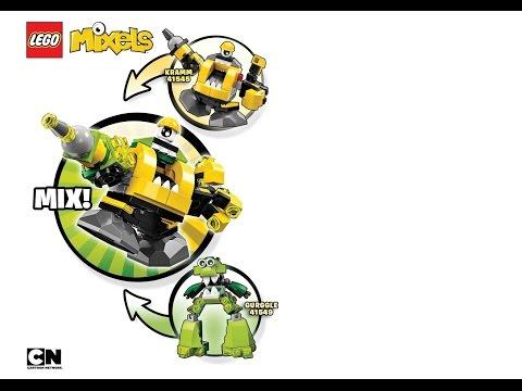 Kramm Gurggle Mix Instructions Lego Mixels Series 6