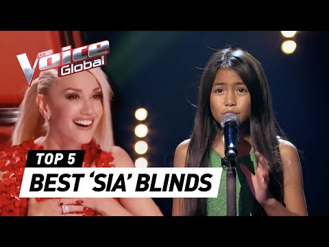 BEST 'SIA' Blind Auditions in The Voice Kids  The Voice Global