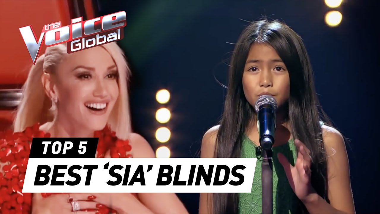 BEST 'SIA' Blind Auditions in The Voice (Kids) | The Voice Global #1