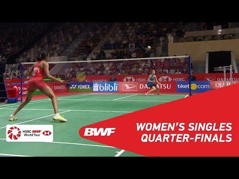 QF | WS | Carolina MARIN (ESP) [5] vs PUSARLA V. Sindhu (IND) [2] | BWF 2019