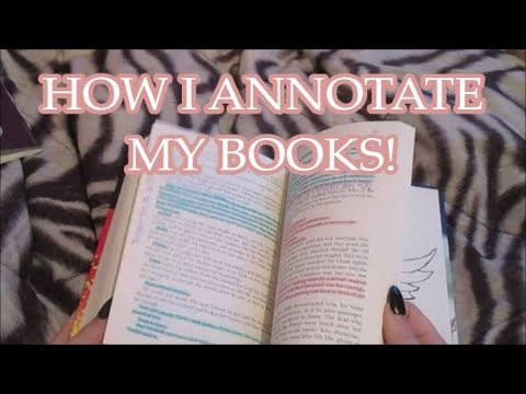 How I Annotate My Books!