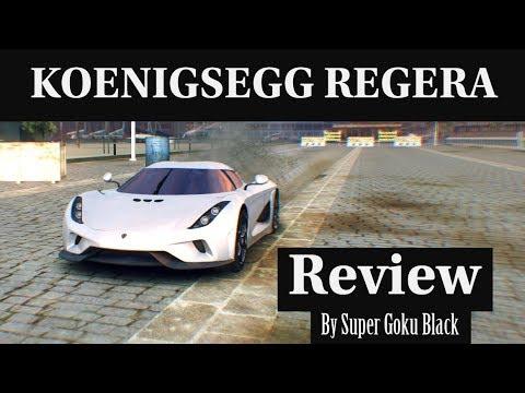 KOENIGSEGG REGERA - Review By Super Goku Black - Asphalt 8