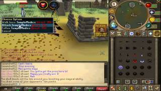 Runescape - Almost Losing a Yellow Partyhat on a 200M Lure! - Framed