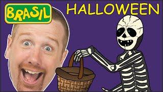 Truque ou Doce no Halloween | Histórias de Terror para Crianças | Steve and Maggie Brasil