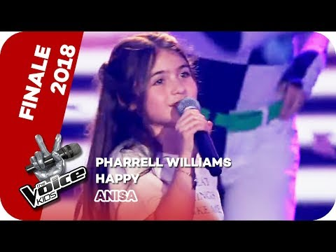 Pharrell Williams - Happy (Anisa) | WINNER | The Voice Kids 2018 | SAT.1