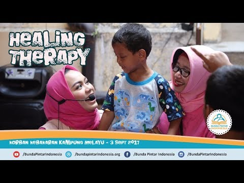 """Bunda Pintar Indonesia - """"Healing Therapy"""" untuk Anak-anak Korban Kebakaran"""