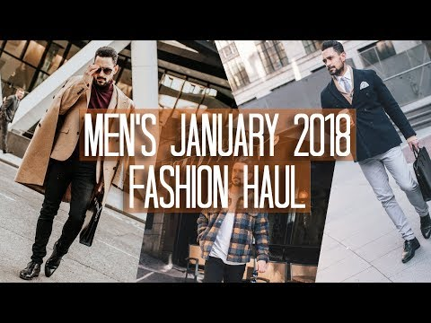 Men's January Fashion Haul + Try on | ASOS REISS NEWLOOK | Carl Thompson