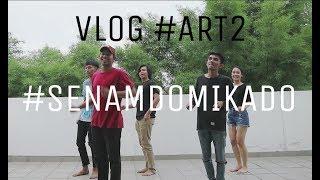 senam domikado behind the scene senam bareng dycal siahaan vlog art2