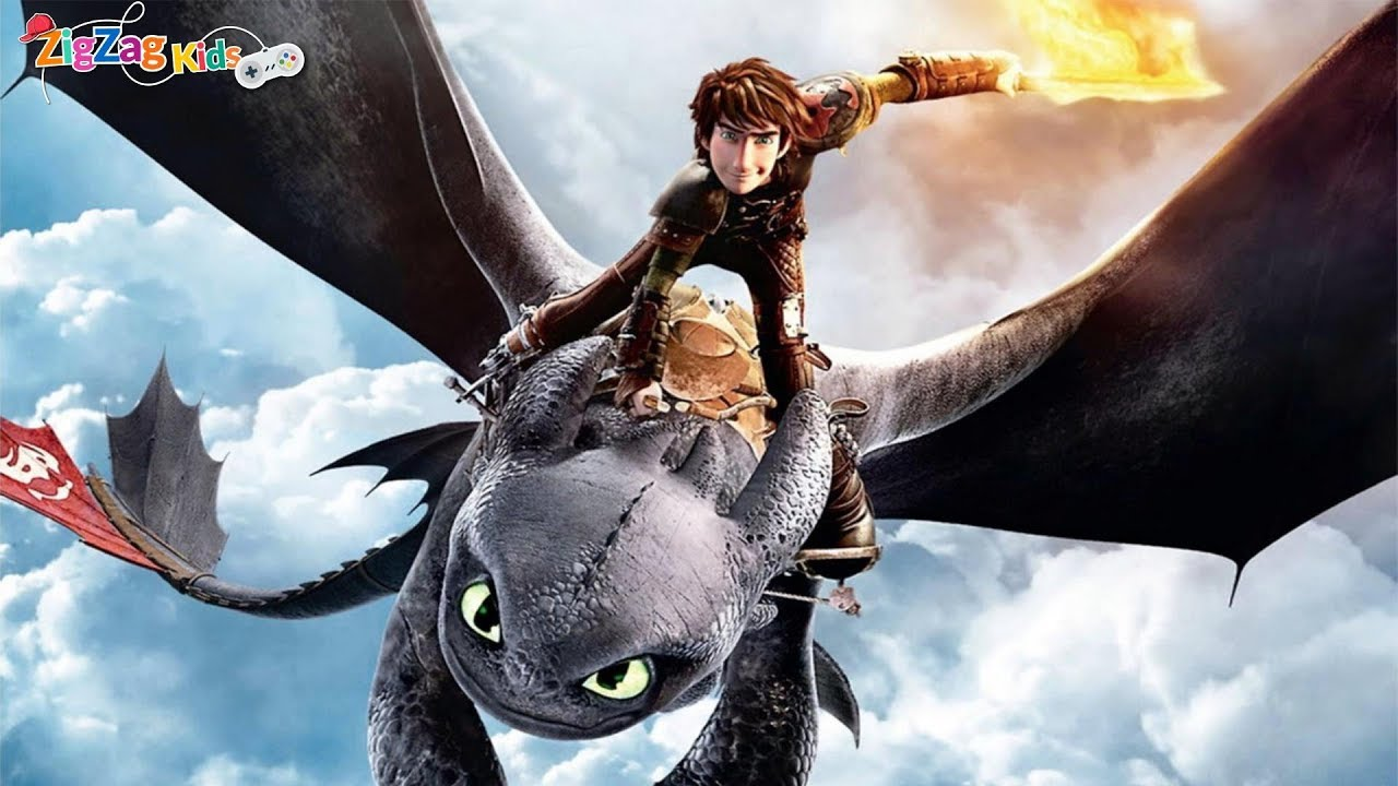 How To Train Your Dragon Full Movie Game Zigzag Youtube