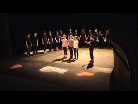 Représentation théâtre Montansier de Versailles  CM1 JJ Tharaud 21 juin 2016