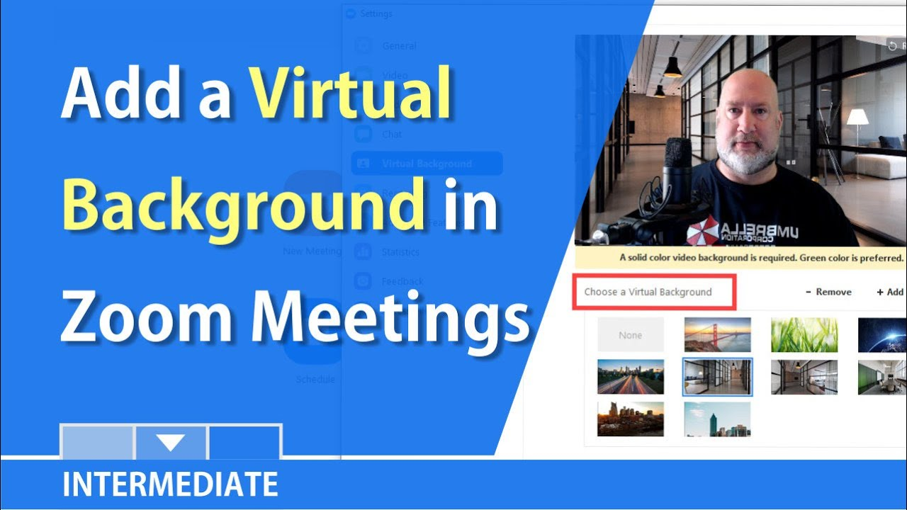 Use A Virtual Background With Zoom Meetings Or Ringcentral By
