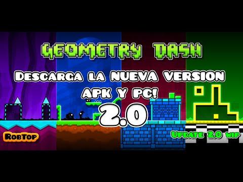 DESCARGAR GEOMETRY DASH 2.0 | APK & PC | MEDIAFIRE |