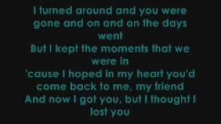 Gambar cover Miley Cyrus ft. John Travolta - I Thought I Lost You (With Lyrics)