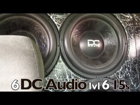 Jon Rabe's 6 Level 6 15s on 9,000watts LOUD AS HELLLL - DC Audio - Sky High Car Audio - XS Power