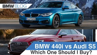 BMW 440i Coupe vs Audi S5 Coupe