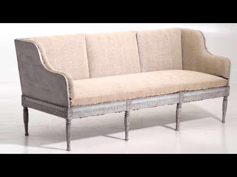 Very fine Gustavian sofa, early 19th Century