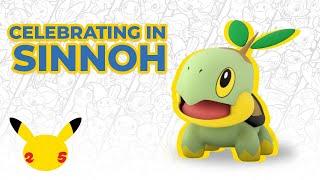Celebrating in Sinnoh 🎇 | Pokémon 25 Shorts