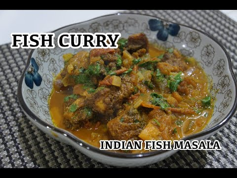 Fish Curry Recipe - Indian Fish Masala - How to make Fish Curry
