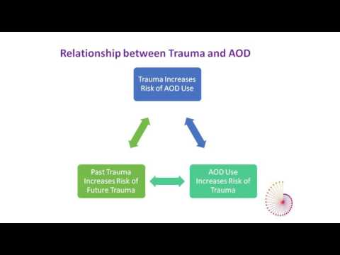 Trauma Informed Care in AOD Services -  Dr Tamsin Short