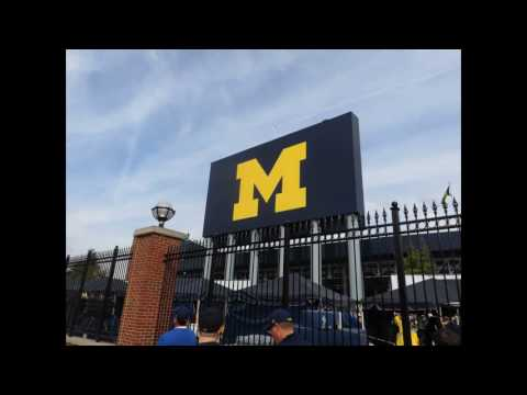 University of Michigan. Uncommon Campus and library