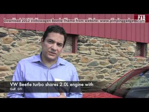 2012 Volkswagen Beetle Turbo First Drive Review + EXCLUSIVE Windows 7 Theme Link