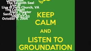 Groundation - Nyabinghi Order - Fourth Dimension - The Seventh Seal - Live (23mn)