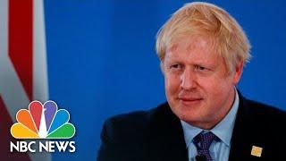 Buckingham Palace Hot Mic Video Is 'Complete Nonsense', PM Johnson Says | NBC News