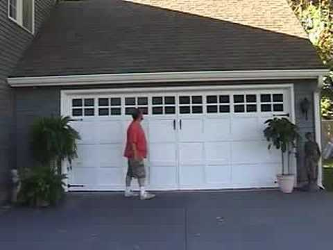 Quick Easy Garage Door Make Over Youtube