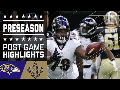Ravens vs. Saints | Game Highlights | NFL