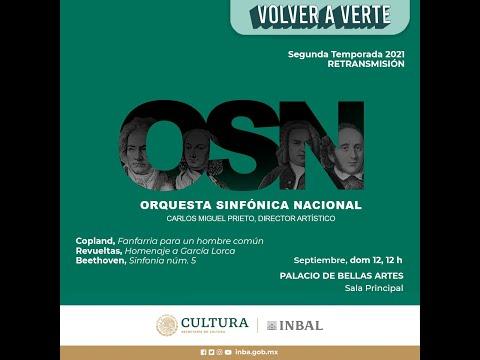 Copland, Revueltas, Beethoven / Orquesta Sinfónica Nacional / INBAL / México