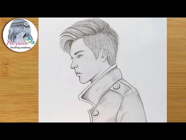 How to draw a boy / Boy pencil sketch