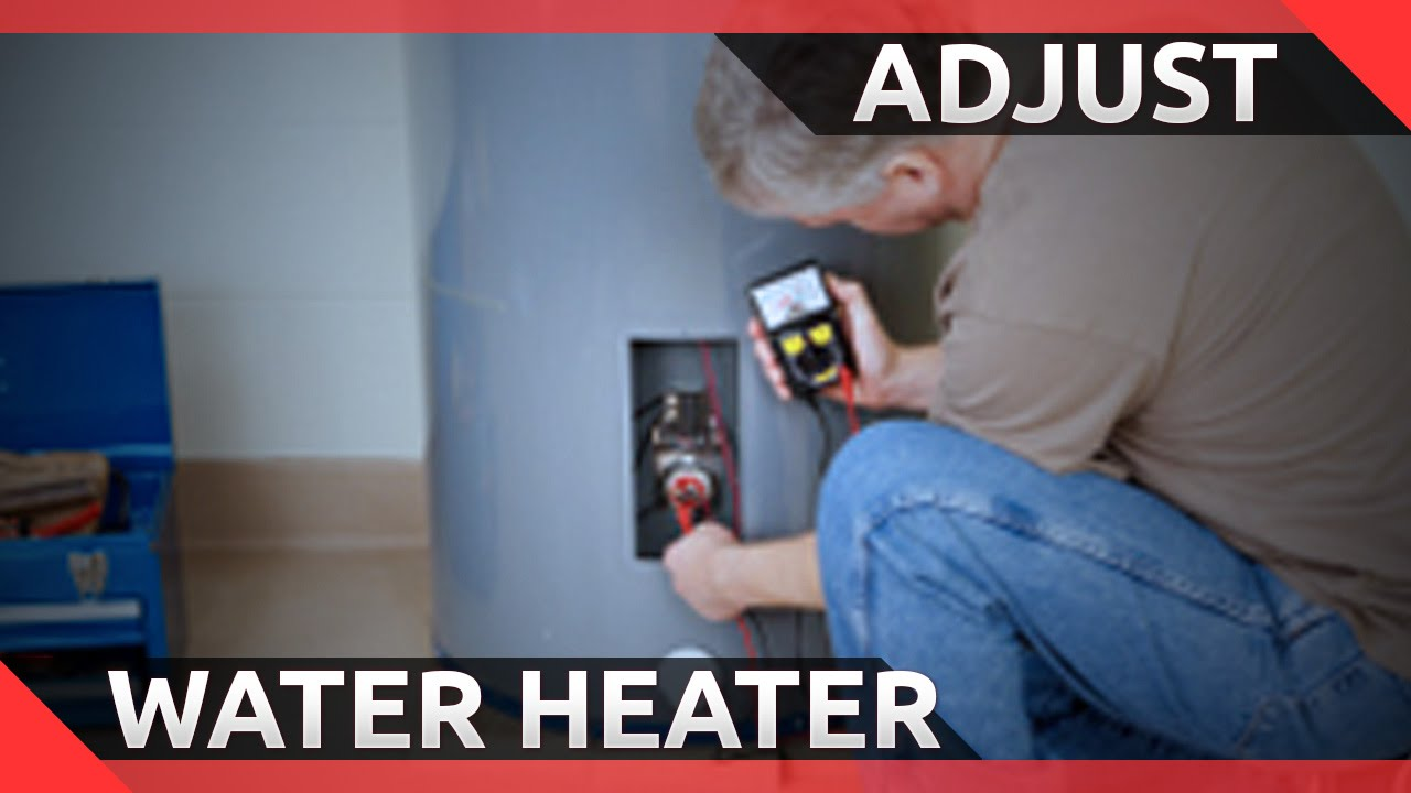 How To Change The Temperature On An Electric Hot Water Heater Easy Changing Thermostat