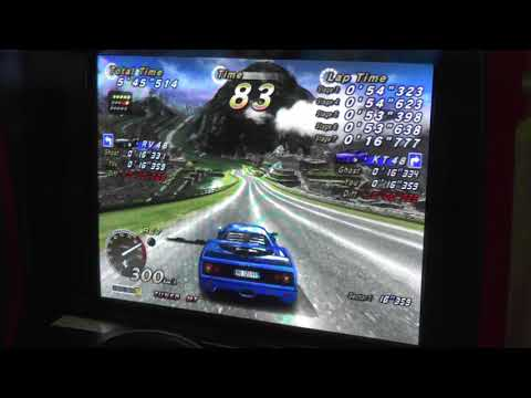 "OutRun 2 SP Time Attack T/MT new 15 Course RVI-KT 13'13""204"