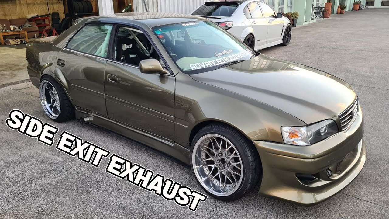 Chaser Side Exit Exhaust And New Hot Boi Wheels!