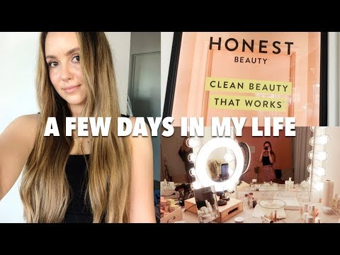 vlog:-healthy-friday-night-cooking,-filming-for-jessica-alba's-honest-beauty,-and-more!