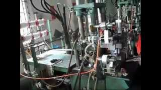 Vertical Injection Molding Machine Work Video.flv