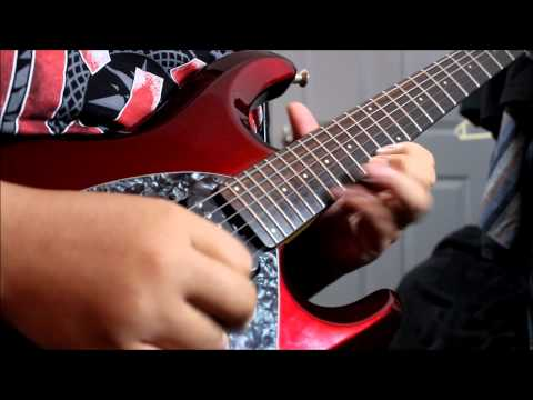 Dream Theater - Wither (Guitar Solo Cover)