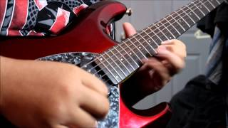 Dream Theater Wither Guitar Solo Cover