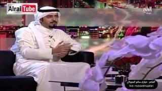 شاهد قصيدة الشاعر مبارك الحجيلان ..من يفقد اعصابه