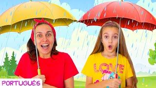 Chuva, Chuva, Vá Embora   Canção infantil por Sunny Kids Songs em Português