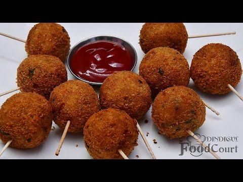 Potato Lollipop Recipe/ Quick Snacks Recipe/ Potato Recipes