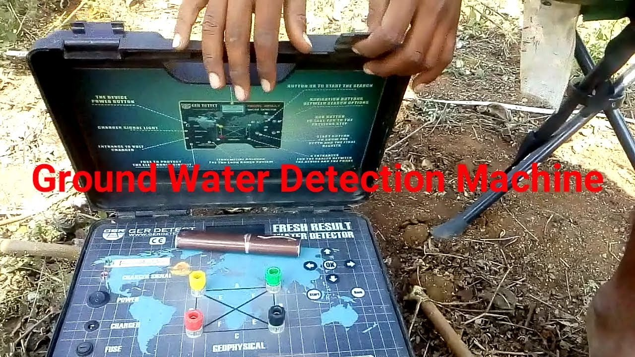 Under Ground Water Detection Machine in India 90% Accurate German Technology